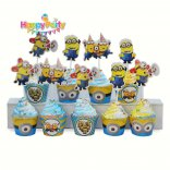 tem-cam-banh-cupcake-chu-de- minion  happyparty.vn