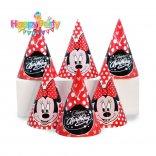 nón giấy sinh nhật mickey đỏ happyparty.vn