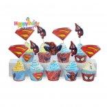 tem-cam-banh-cupcake-chu-de- spiderman happyparty.vn