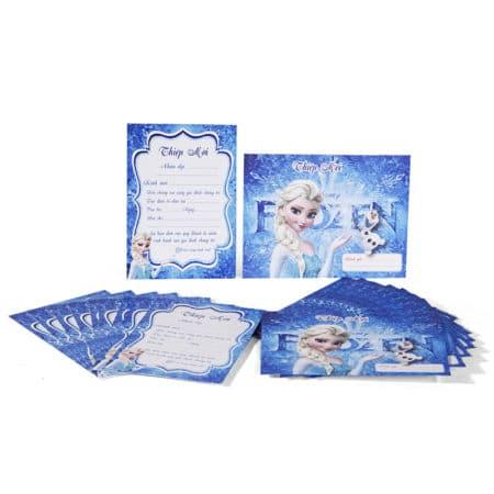 Thiệp Sinh nhật chủ đề Frozen