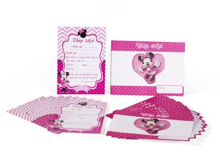 Thiệp Sinh nhật chủ đề Minnie
