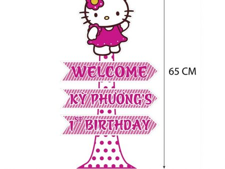 Cây Welcome Chủ đề Kitty