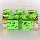 Set Xanh là gold Ép hộp quà  sinh nhật happyparty.vn
