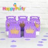 tím gold kim tuyến hộp quà sinh nhật happyparty.vn