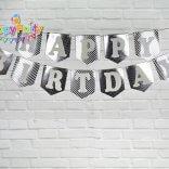 Set silver ép kim dây treo sinh nhật happyparty.vn