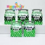 Set xanh lá ép kim hộp quà sinh nhật happyparty.vn