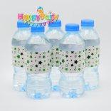 Set xanh lá ép kim giấy  bọc chai nước  happyparty.vn