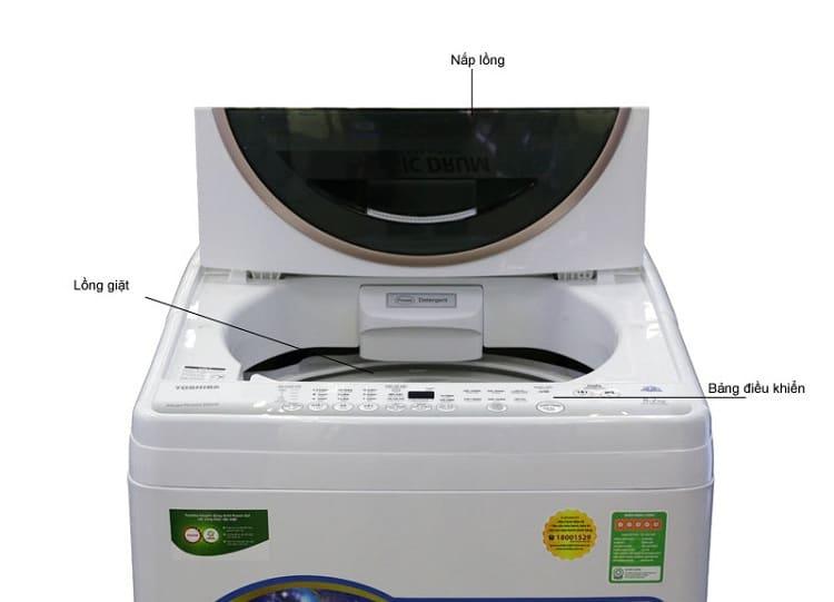 Vệ sinh máy giặt cửa trước cửa trên cửa ngang vệ sinh anh thư tphcm