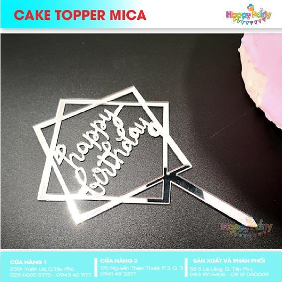CAKE TOPPER MICA 17