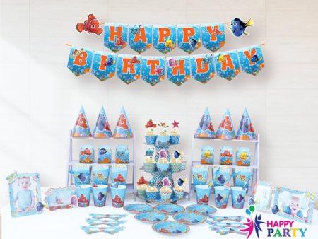 Phụ kiện trang trí sinh nhật chủ đề NEMO