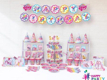 Phụ kiện trang trí sinh nhật chủ đề PONY