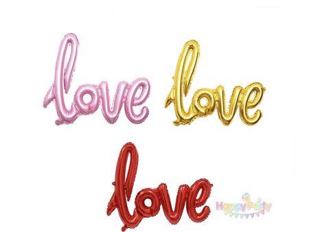 BONG BÓNG CHỮ LOVE
