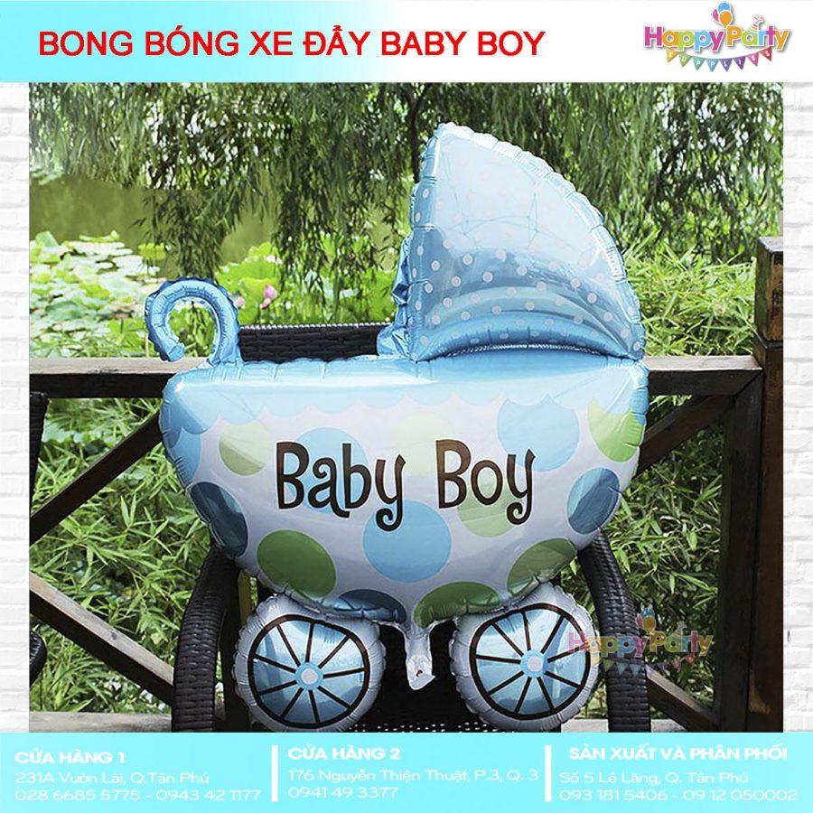 BONG BÓNG XE NÔI BABY BOY