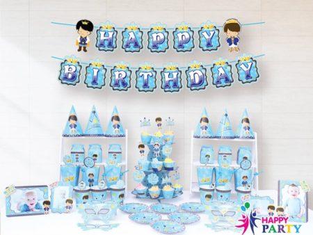 Phụ kiện trang trí sinh nhật chủ đề HOÀNG TỬ