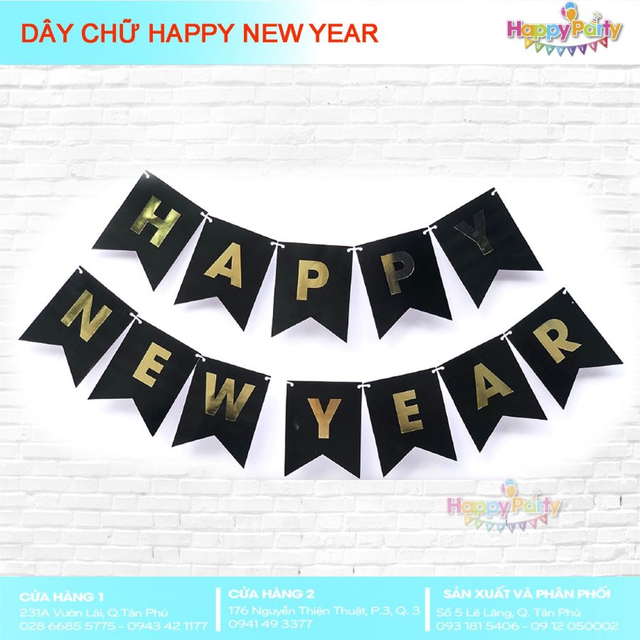 DÂY CHỮ HAPPY NEW YEAR