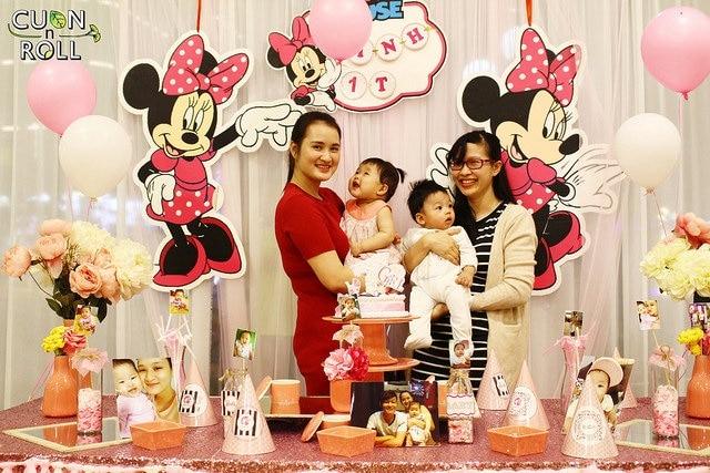tiệc sinh nhật cho mẹ