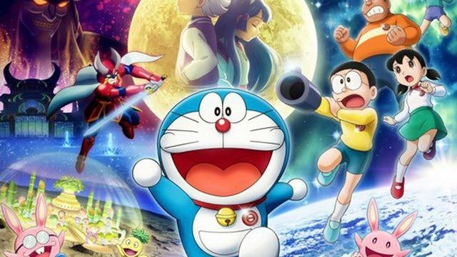 doremon nobita và mặt trăng phưu lưu kí