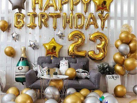 Mẫu trang trí bóng sinh nhật cho người lớn