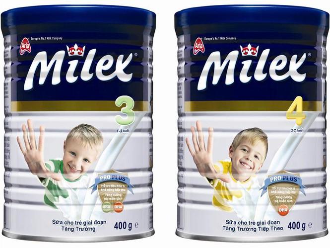 sữa bột milex