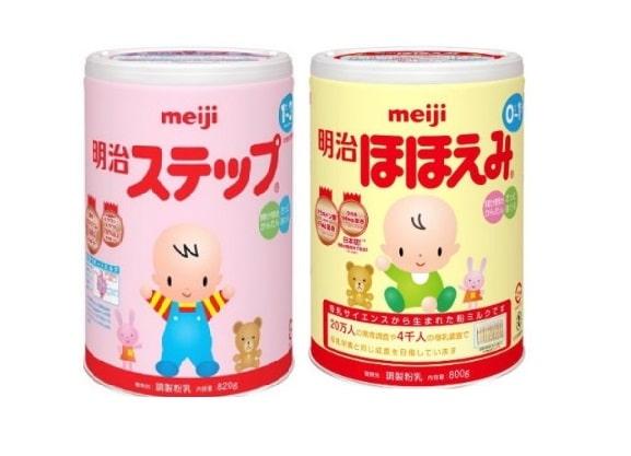 sữa meiji