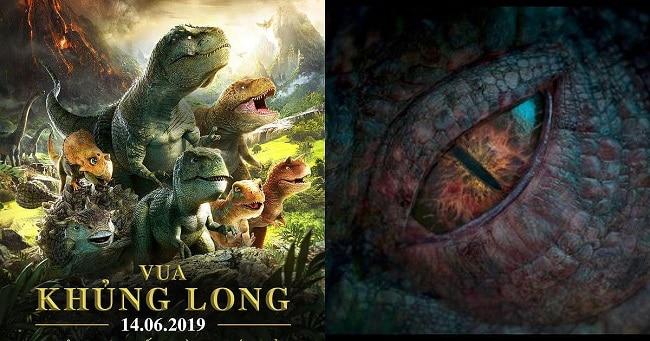 vua khủng long và cuộc phưu lưu đến vùng núi lửa