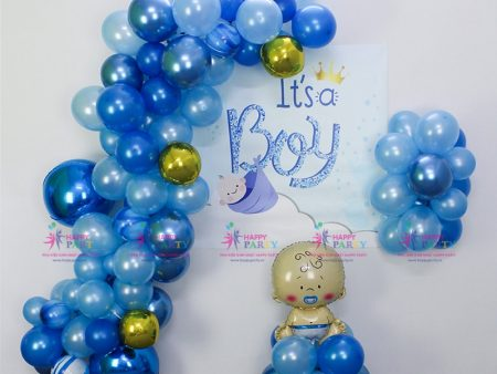 Combo Backdrop Baby Boy - 001