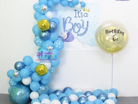 Bọt Biển - Baby Boy - Set Trang Trí Tường Baby Boy