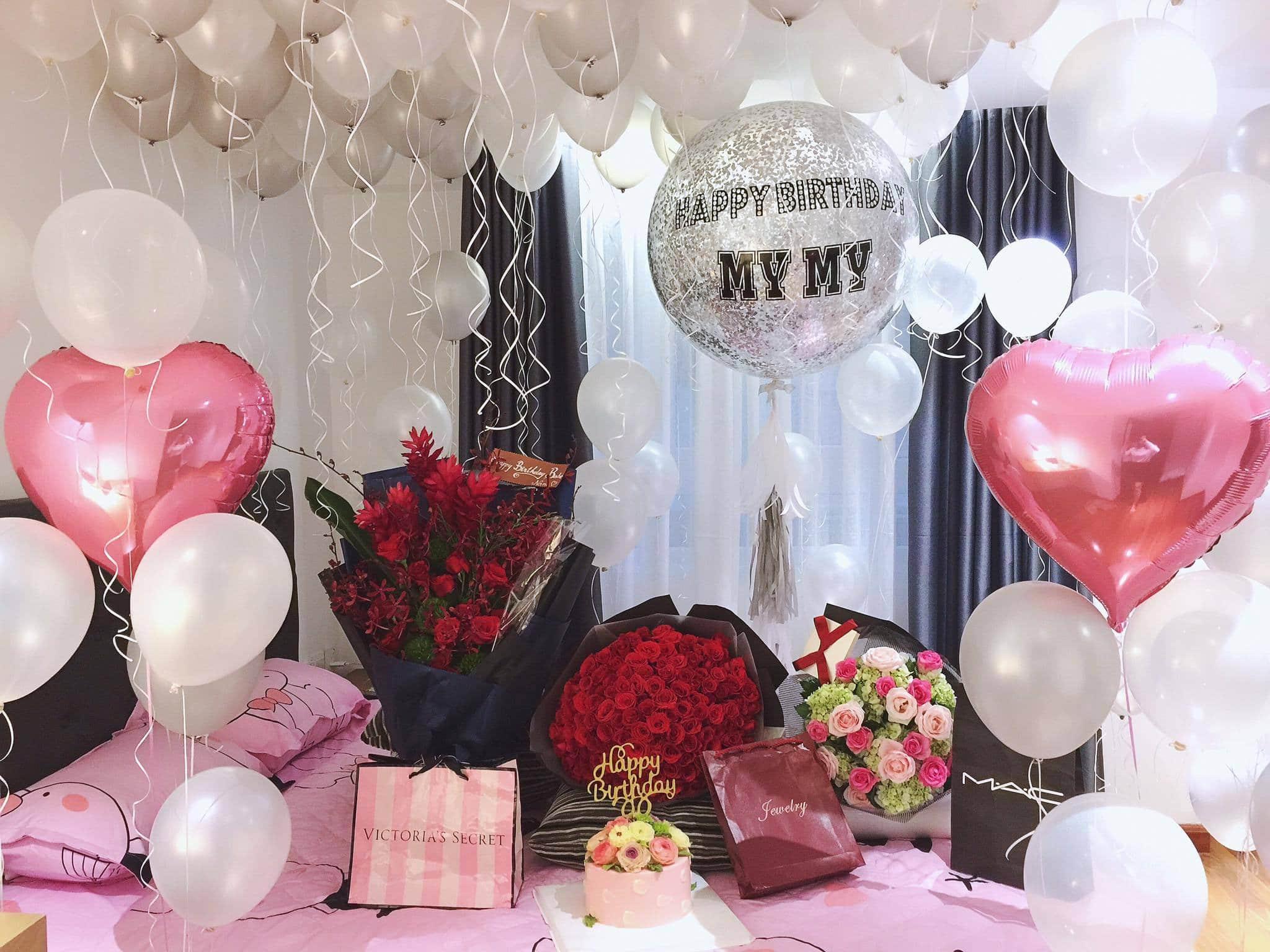 [Chia Sẻ] cách trang trí sinh nhật cho người yêu cực lãng mạn