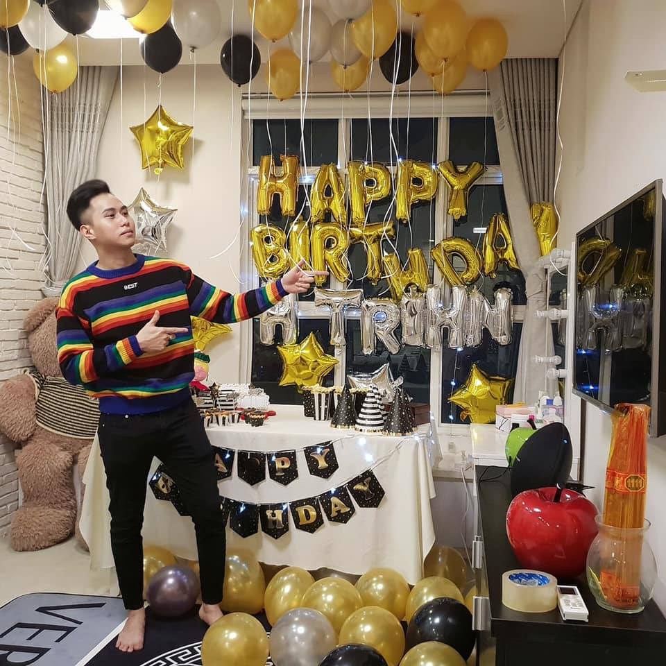 Ý tưởng trang trí sinh nhật cho bạn trai độc đáo