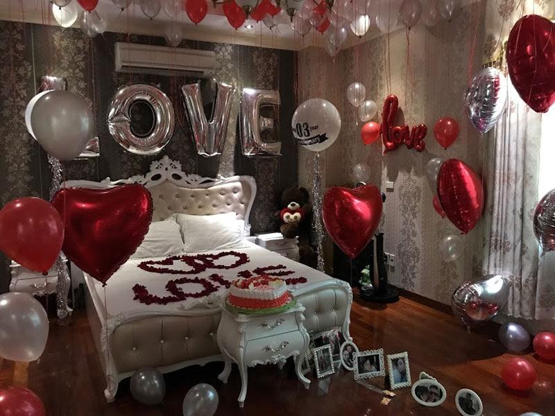 [Chi tiết] Cách trang trí sinh nhật trong phòng ngủ cực ấn tượng