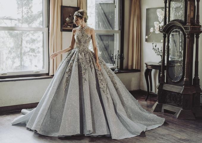 Trang phục cưới theo phong cách Châu Âu