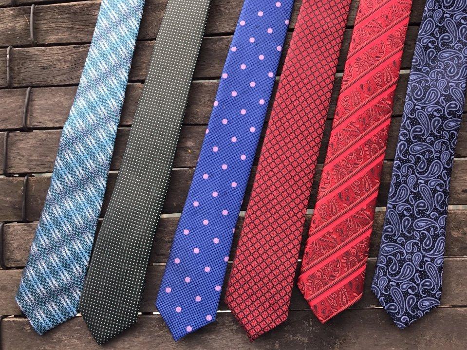 Quà tặng là những chiếc cà vạt