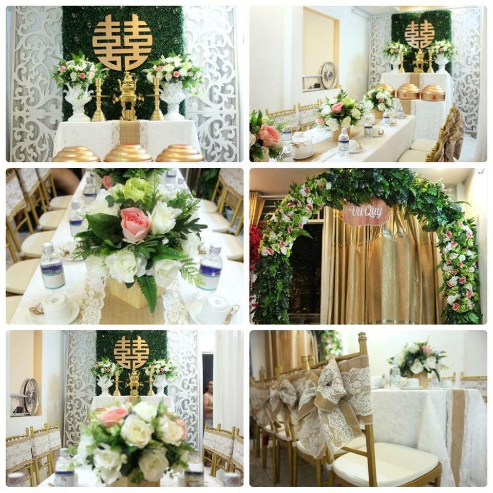 [Kinh nghiệm] Những cách trang trí tiệc cưới tại nhà