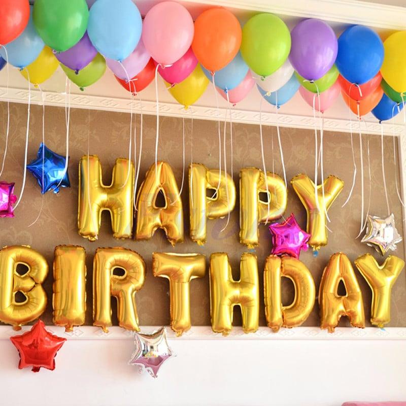 Bóng chữ Happy birthday