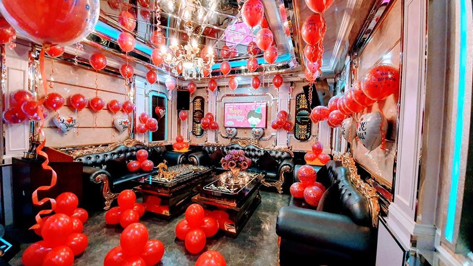Kinh nghiệm trang trí sinh nhật trong phòng karaoke