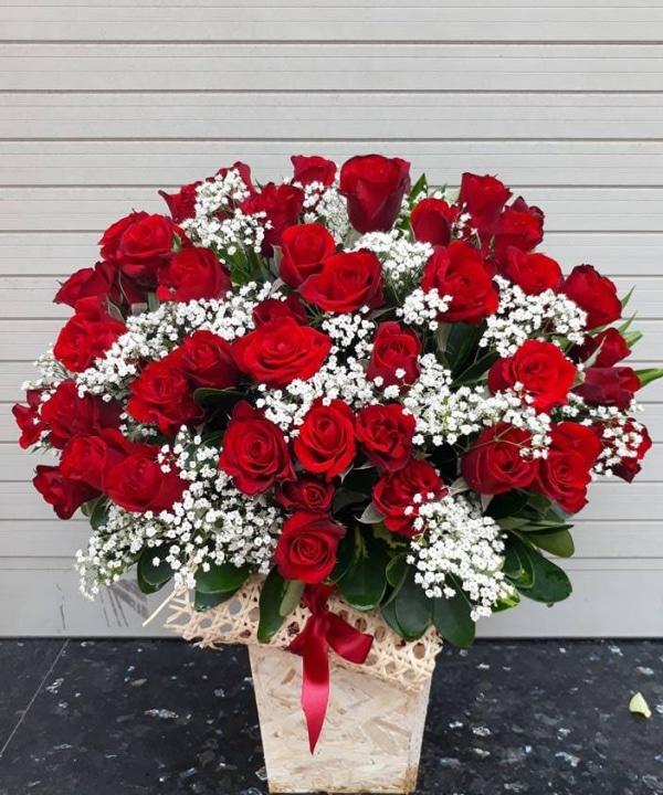 Lẵng hoa tặng sinh nhật người yêu