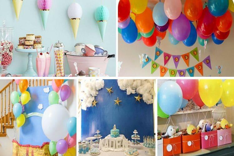 [Hướng dẫn] Trang trí góc sinh nhật ở trường mầm non