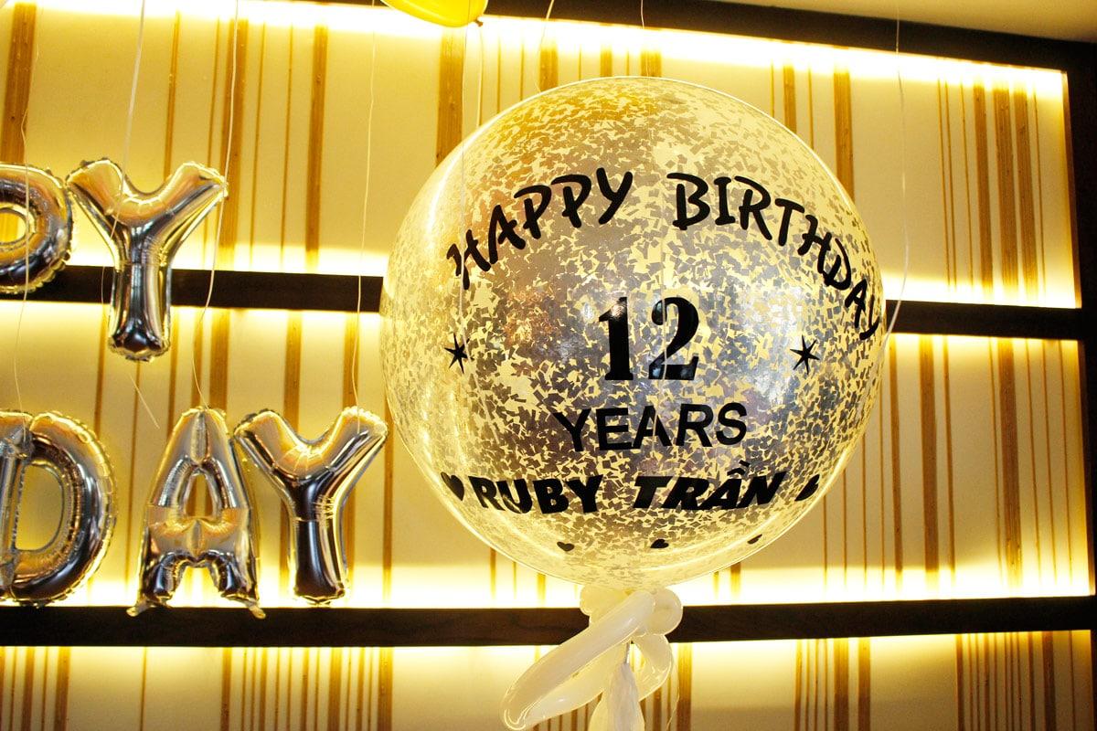 Bóng Jumbo trang trí sinh nhật
