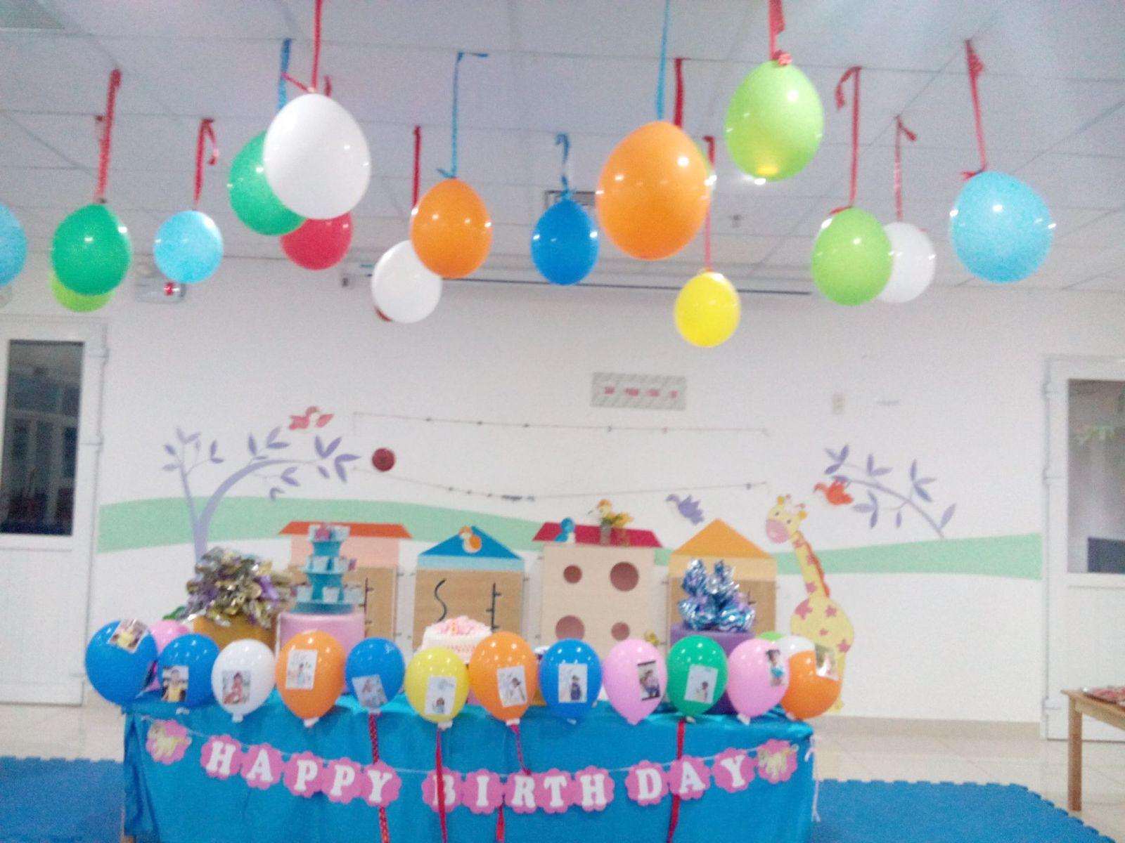Tổ chức sinh nhật cho con tại trường sẽ mang nhiều ý nghĩa hơn
