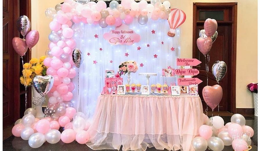 Happyparty là đơn vị chuyên cung cấp dịch vụ trang trí tiệc sinh nhật trọn gói chuyên nghiệp và uy tín