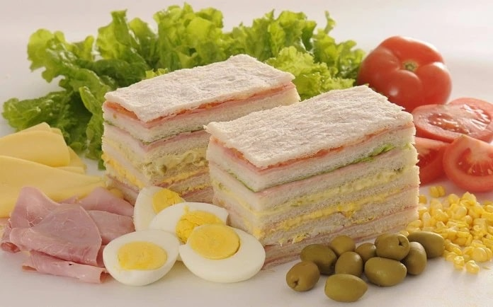 Bánh Sandwiches De Miga