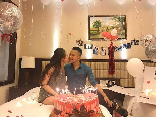 Tổ chức sinh nhật tại nhà cho vợ