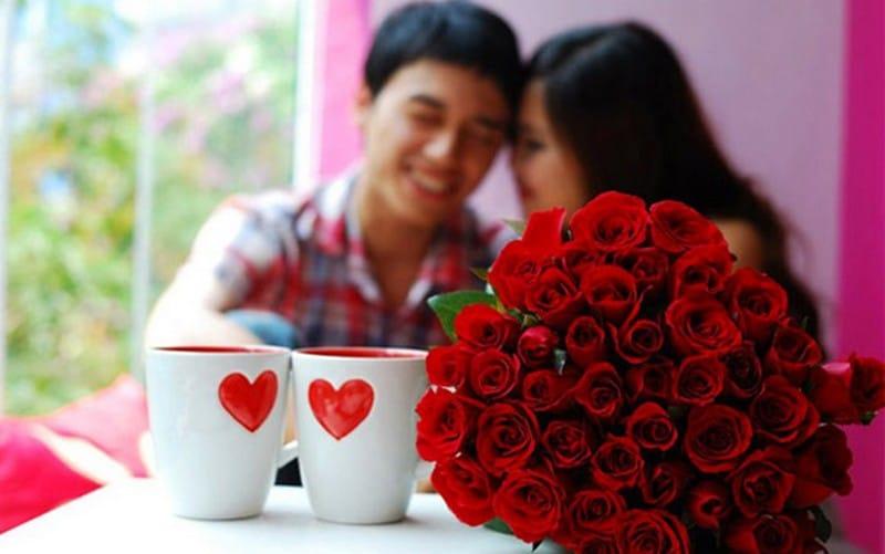 Ngày valentine ngọt ngào bên vợ