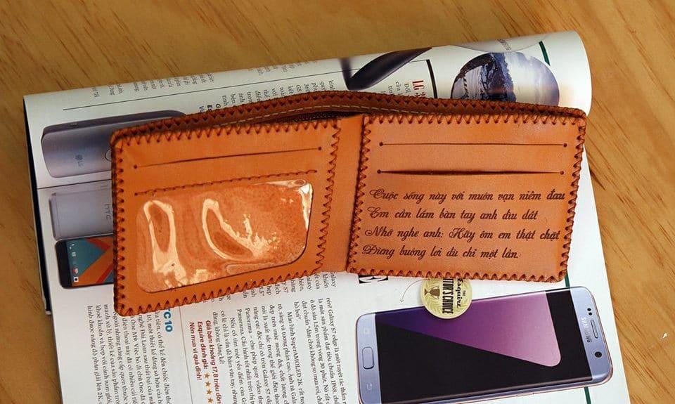 Chiếc ví là món phụ kiện nhỏ nhắn nhưng lại vô cùng tiện lợi