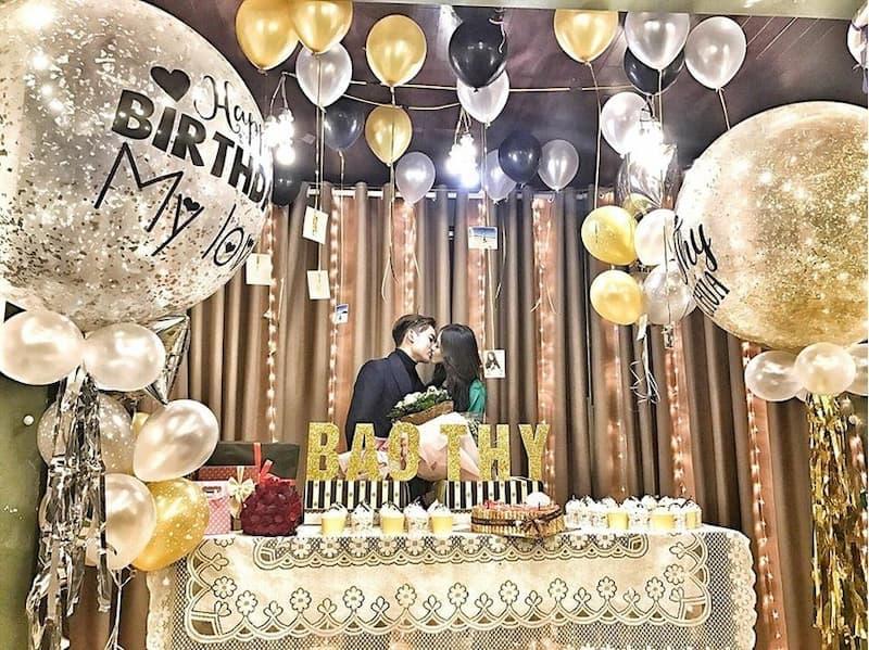 Tổ chức sinh nhật cho bạn trai lãng mạn